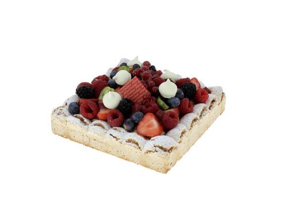 Tarte-dacquoise-fruit-rouge