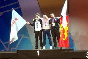 Louis Agnellet décroche l'or aux Olympiades des Métiers le 19 avril 2017 | Alban Guilmet
