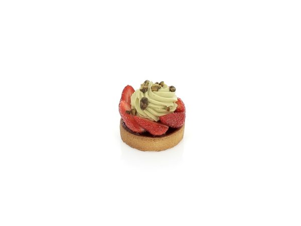 Tarte fraise pistache le 11 avril 2015 | Alban Guilmet
