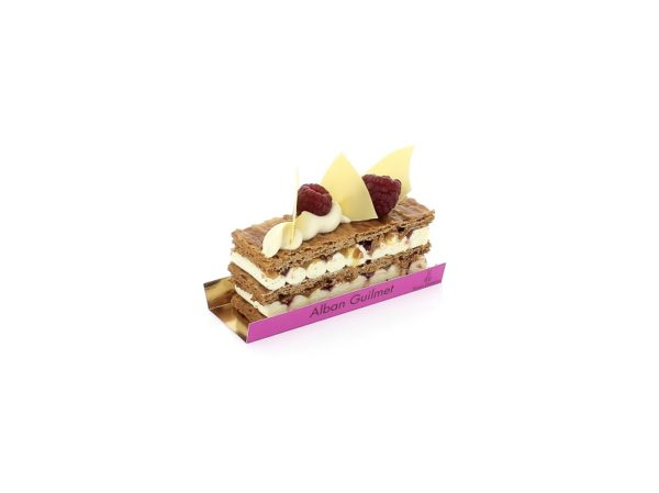 Millefeuille passion framboise le 19 avril 2019 | Alban Guilmet