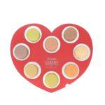Palette coeur 8 macarons le 8 février 2020 | Alban Guilmet